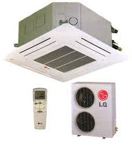 Điều hòa LG Âm trần Cassette 1 chiều lạnh HT-C246HLA1