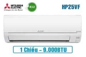 Điều hòa Mitsubishi 1 chiều MS-HP25VF 9000BTU