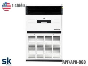 Điều hòa tủ đứng Sumikura APF/APO-960 1 chiều 96000BTU
