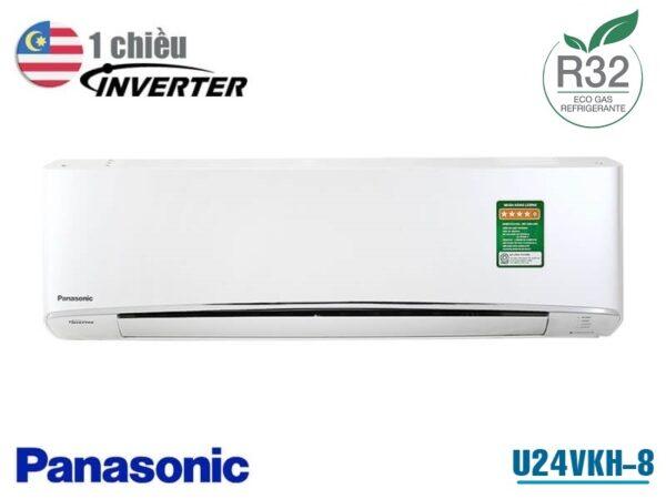 Điều hòa Panasonic 1 chiều inverter 24000BTU U24VKH-8