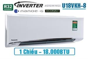 Điều hòa Panasonic inverter 1 chiều U18VKH 18.000BTU