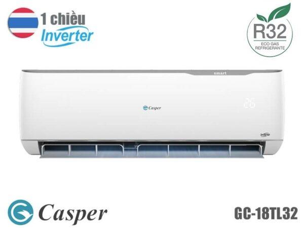 Điều hòa Casper inverter 1 chiều GC-18TL32 18000BTU