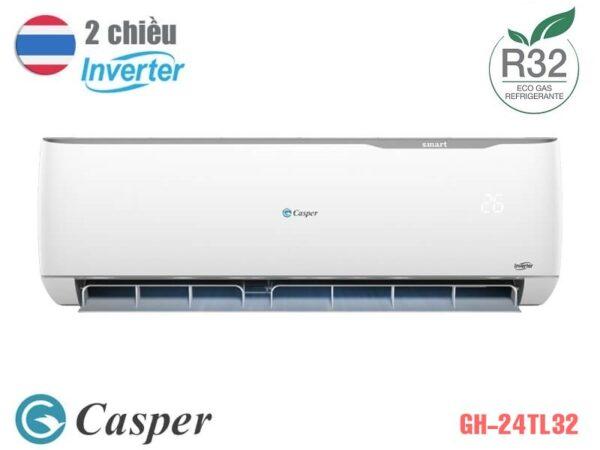 Điều hòa Casper inverter 2 chiều GH-24TL32 24000BTU