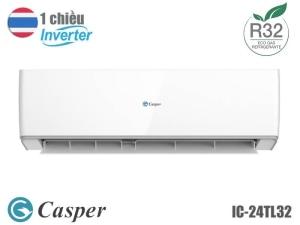 Điều hòa Casper 1 chiều inverter 24000BTU IC-24TL32