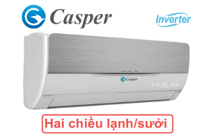 Điều hòa Casper 2 chiều inverter IH-18TL11 18000BTU
