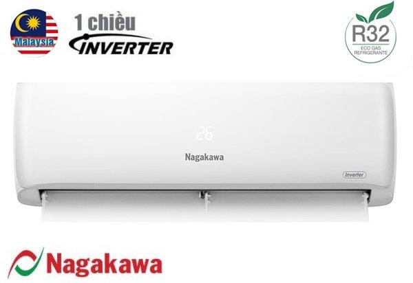 Điều hòa Nagakawa inverter 1 chiều 18000BTU NIS-C18R2H08