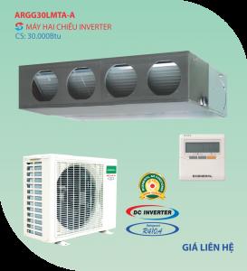 Điều hòa nối ống gió General 2 chiều ARGG30LMLA-A inverter 30.000BTU