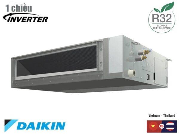 Điều hòa nối ống gió Daikin 1 chiều inverter 21000BTU FBA60BVMA9/RZF60CV2V
