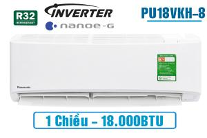 Điều hòa Panasonic 1 chiều inverter PU18VKH-8 18.000BTU