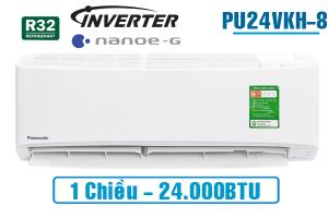 Điều hòa Panasonic 1 chiều inverter PU24VKH-8 24.000BTU
