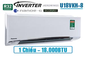 Điều hòa Panasonic 1 chiều inverter U18VKH-8 18.000BTU