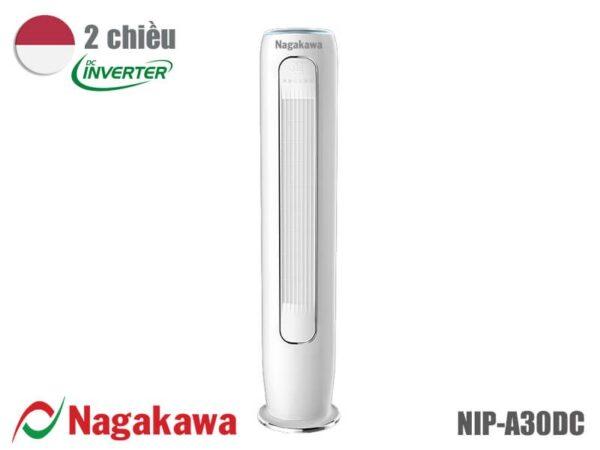 Điều hòa inverter tủ tròn Nagakawa 2 chiều NIP-A30DC