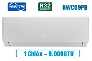 Điều hòa Gree 1 chiều inverter 9.000BTU GWC09PB-K3D0P4
