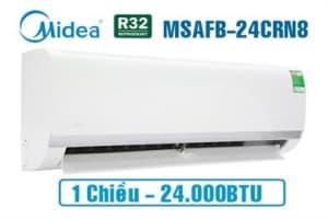 Điều hòa Midea 1 chiều 24.000BTU MSAFB-24CRN8