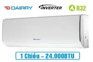 Điều hòa Dairry 1 chiều Inverter I-DR24KC 24000BTU