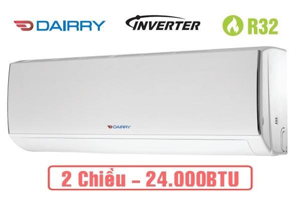 Điều hòa Dairry 2 chiều Inverter I-DR24KH 24000BTU