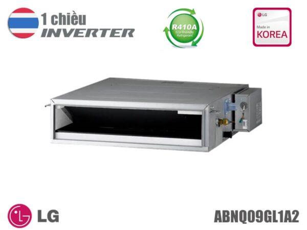 Điều hòa nối ống gió LG inverter 9.000BTU ABNQ09GL1A2