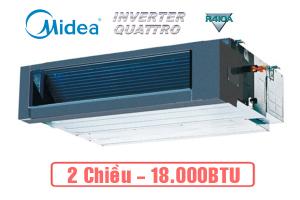 Dàn lạnh nối ống gió điều hòa multi Midea 18.000BTU MTIU-18HWF