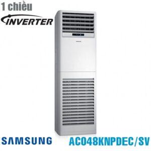 Điều hòa tủ đứng Samsung 1 chiều inverter 48000BTU AC048KNPDEC/SV