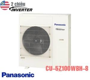 Điều hòa multi Panasonic 2 chiều 34000BTU CU-5Z100WBH-8