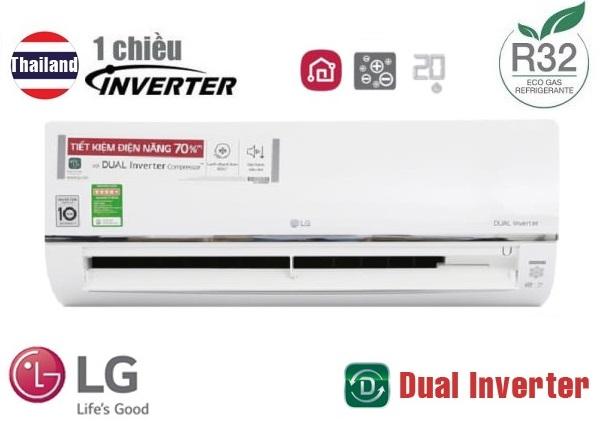 Điều hòa LG 1 chiều inverter 24000BTU V24API1