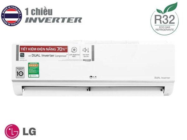 Điều hòa LG 1 chiều Inverter 13000BTU V13ENS1