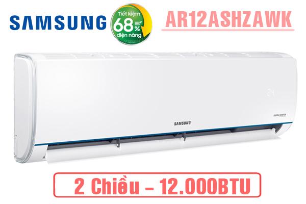 AR12ASHZAWKNSV, Điều hòa Samsung 12000BTU 2 chiều inverter
