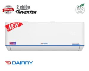 Điều hòa Dairry 2 chiều inverter 9000BTU i-DR09LKH