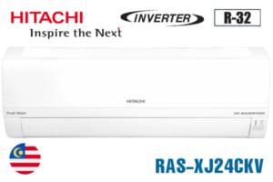 Điều hòa Hitachi inverter 1 chiều 24000BTU RAS-XJ24CKV