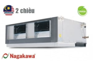 Điều hòa nối ống gió Nagakawa 2 chiều 100.000BTU NBH-A100E