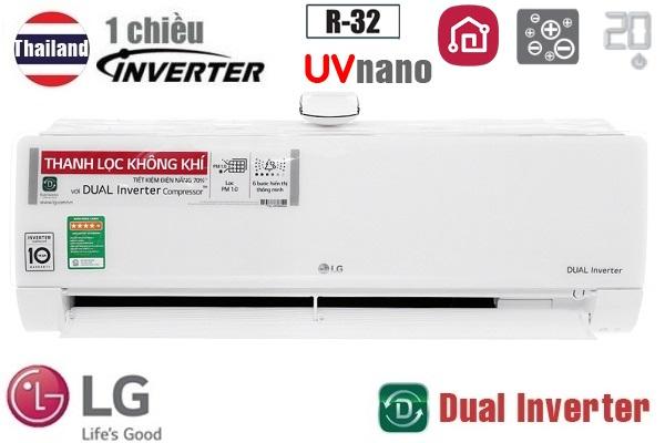 Điều hòa LG 1 chiều inverter 9000BTU V10APFUV