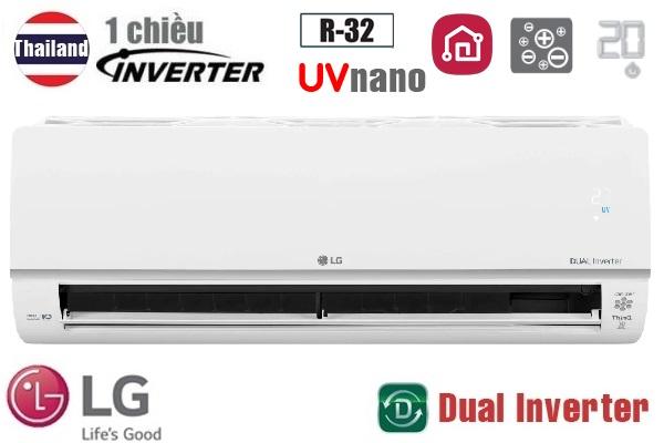 Điều hòa LG 1 chiều inverter 9000BTU V10APIUV